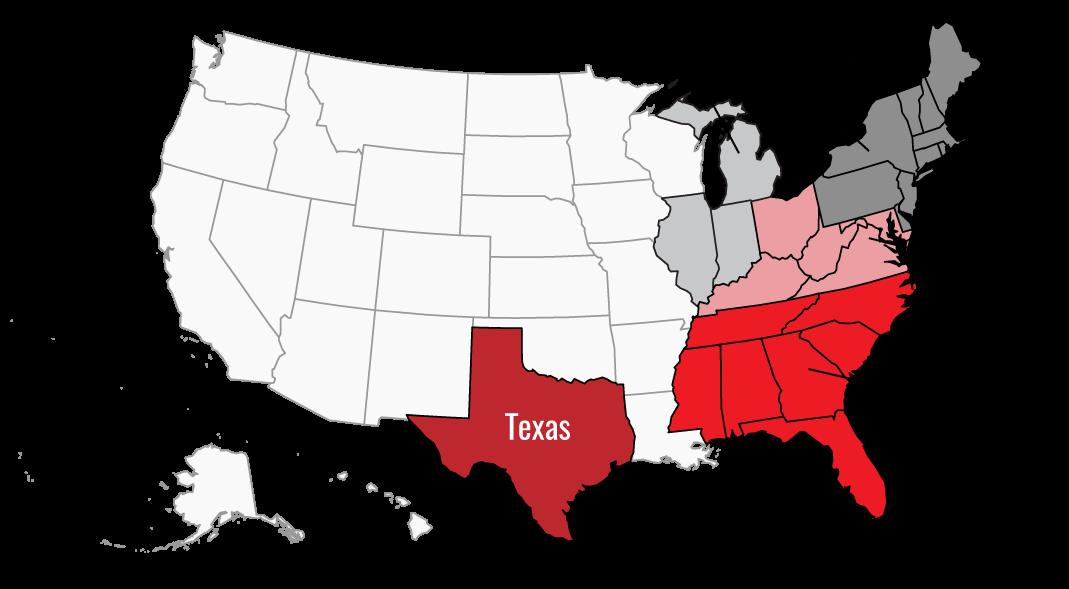 abt service area map