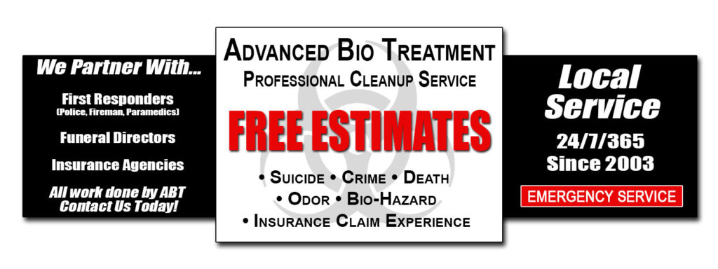Crime Scene Cleanup - Free Estimates